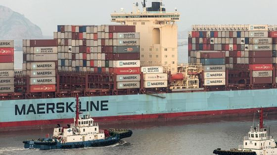 Maersk's Green Shipping Plan Runs Up Against Scarce Cooking Oil