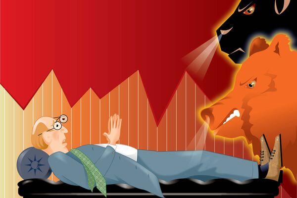 Market demons illustration