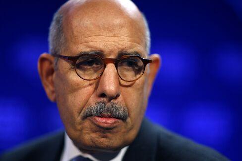 Mohamed ElBaradei, Nobel laureate