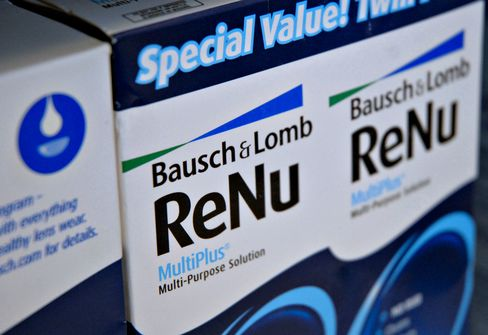 Valeant Said to Be Near Deal to Buy Bausch & Lomb for $9 Billion