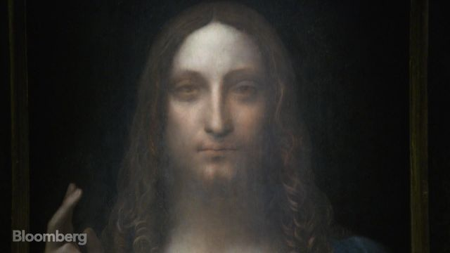 Da Vinci's Christ Portrait Shatters Art Record With $450 Million Sale