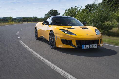 The Lotus Evora 400.
