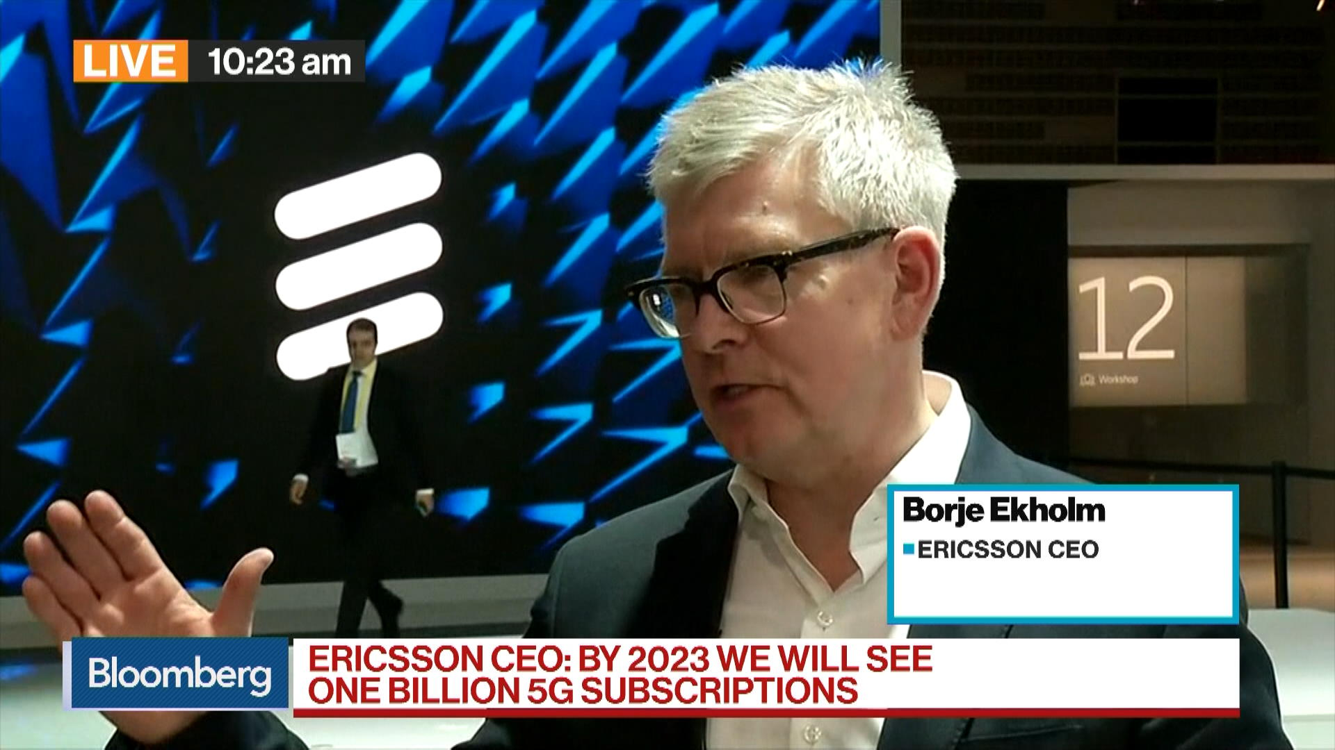 Ericsson CEO Sees No Need For Government-Run Wireless Networks