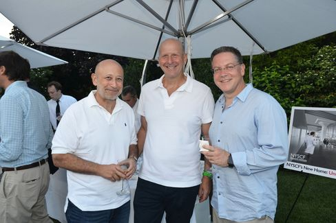 Lloyd Blankfein, David Solomon and Stephen Scherr