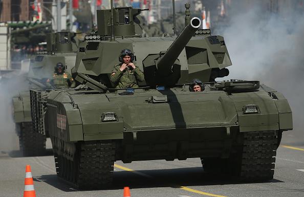 Russian Tanks Roll Into a Marketing War