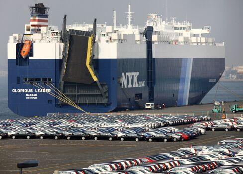Toyota Boosts Japan Ship Lines Amid Bulk Slump