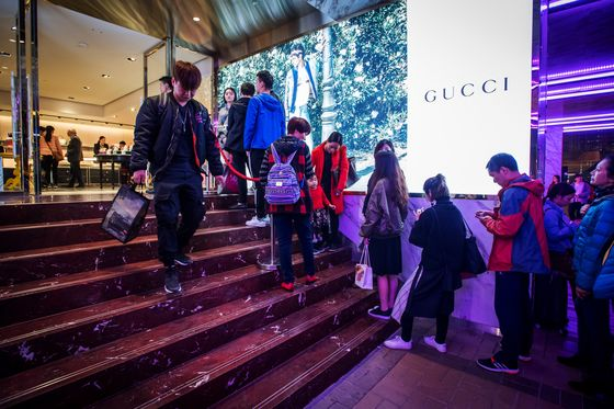Gucci Strikes China Gold, Thanks to 'Moonlight Clans' Who Spend It All