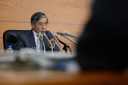 Haruhiko Kuroda, governor of the Bank of Japan.