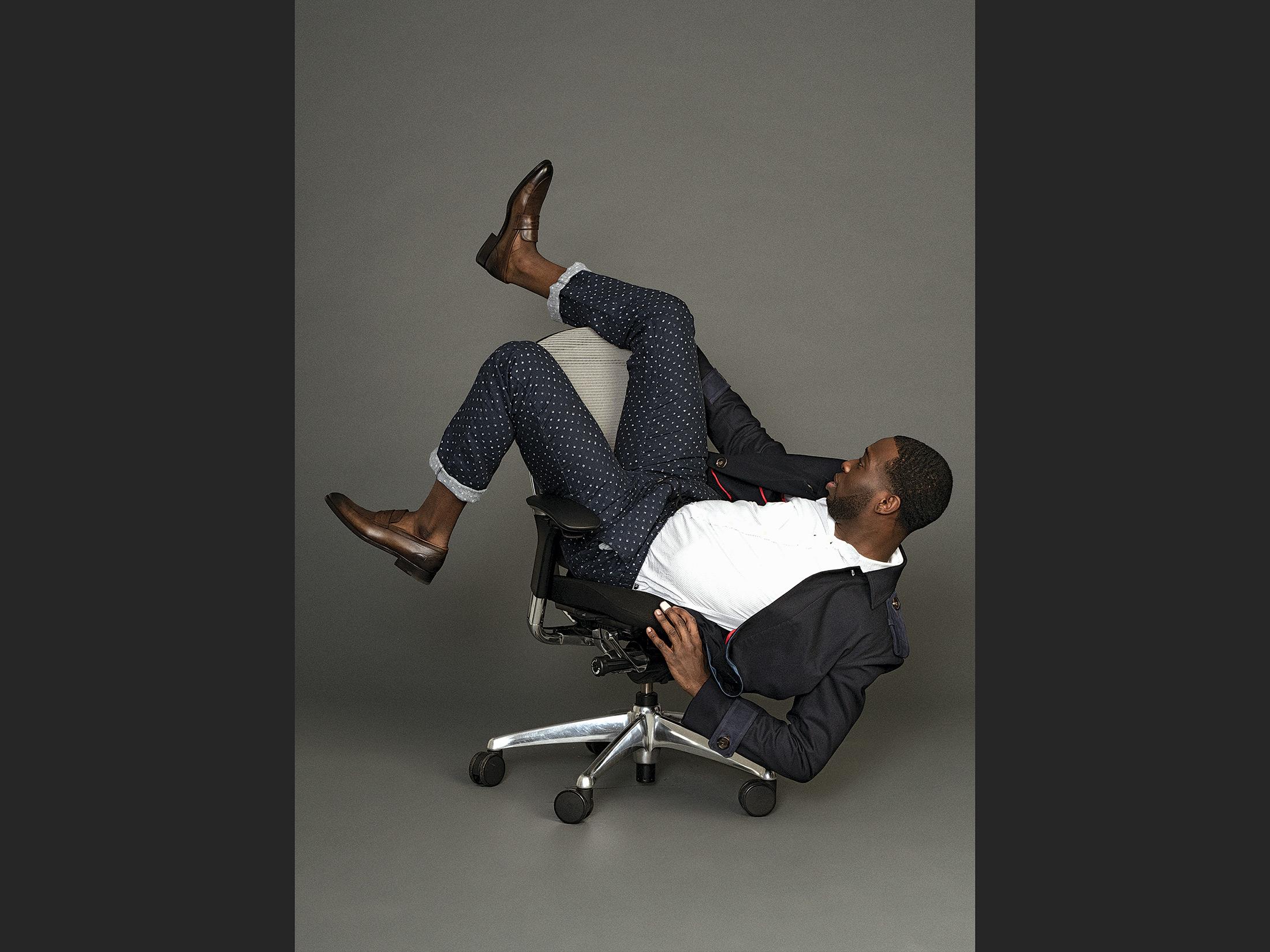 Michael Kors Diamond batik linen pajama pants