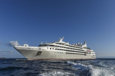 Ponant's Le Lyrial, launched in May 2015.