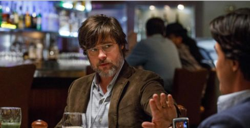 Brad Pitt stars as one of the protagonists in The Big Short.