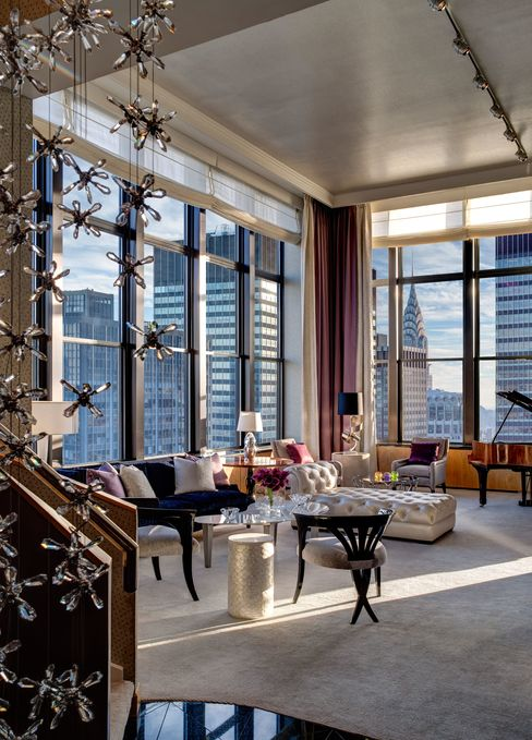 The New York Palace's Jewel Suite, designed by jeweler Martin Katz