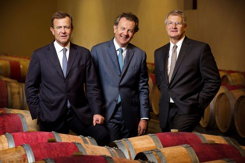 Taillevent is owned by brothers Stephane (left), Laurent (center, and Thierry Gardinier.