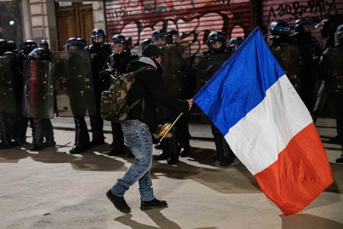 Macron Braces for Second Week of Protests Against Pension Reform