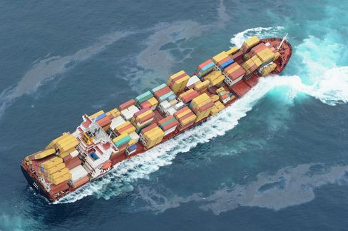 N.Z. Stricken Ship Faces Strong Winds