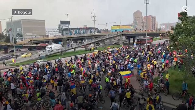 Nationwide Protests in Colombia