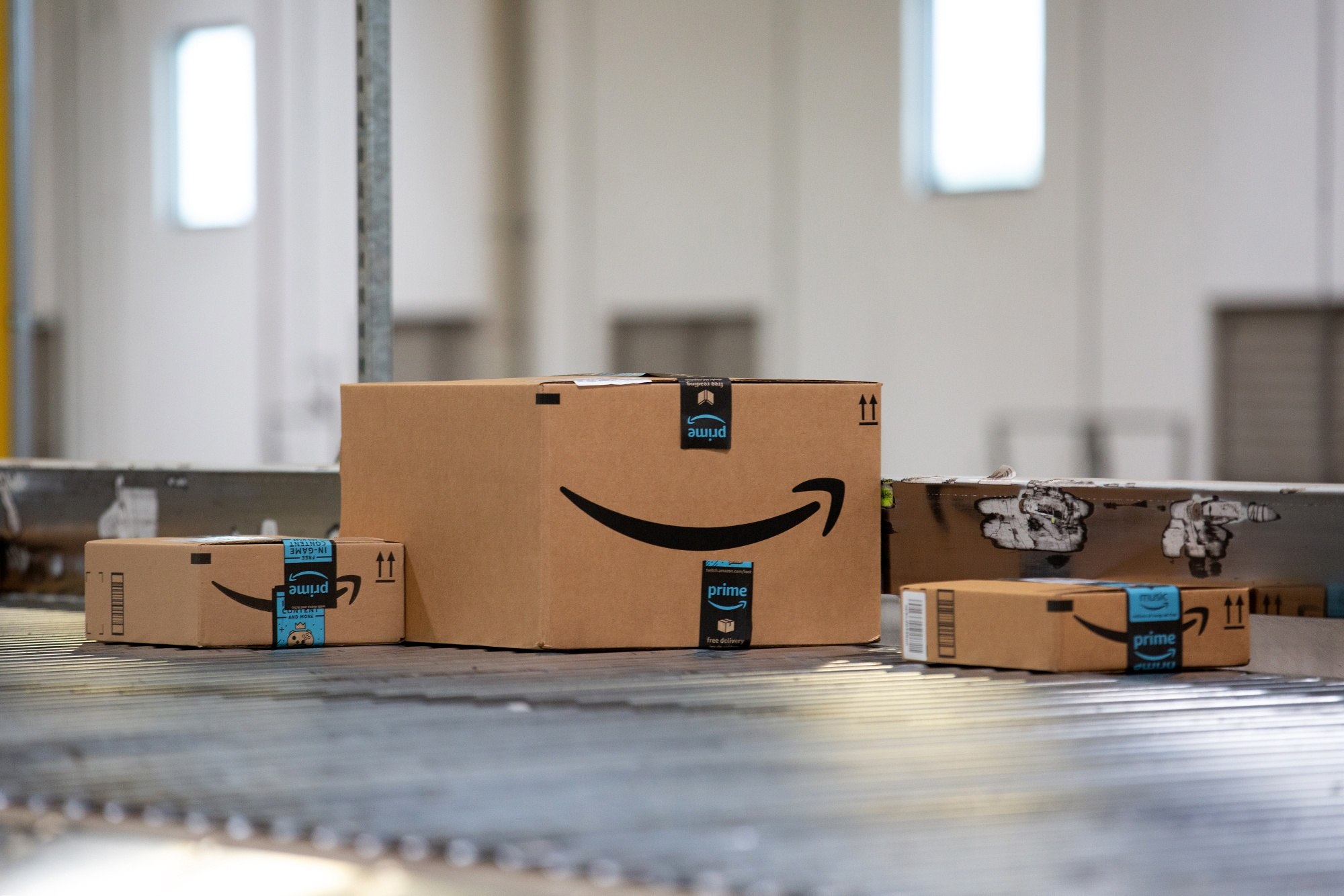 Operations At An Amazon.com Inc. Fulfillment Center During the ICON Conference