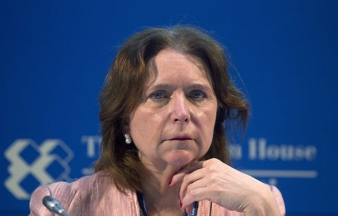 British Bankers' Association CEO Angela Knight