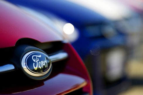 Ford Says Europe Capacity Cuts Enough as Market Stabilizing