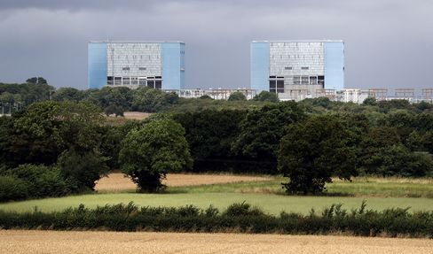 Hinkley Point nuclear power station in Somerset, on July 28, 2016.