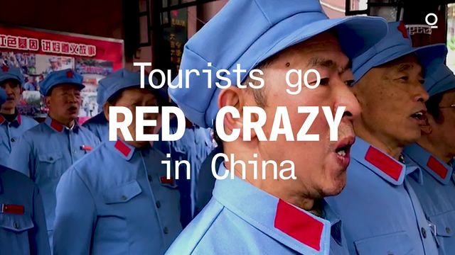 Tourists go Red Crazy in China