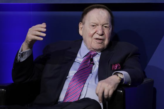 Billionaire Adelson Diagnosed With Cancer, Undergoing Treatment