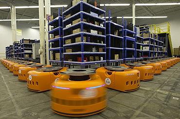 How Kiva Robots Help Zappos and Walgreens