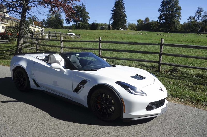 2017 Corvette Grand Sport Convertible Review Give It A Chance