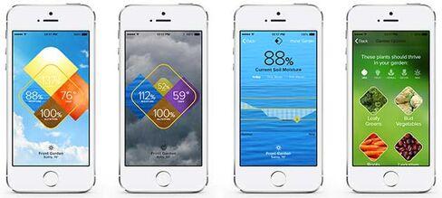 Edyn app screens
