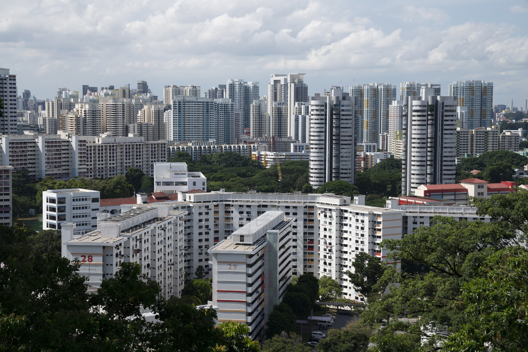 Views of Singapore as Prime Minister says Covid-19 to 'Weigh Heavily' on City-State's Economy