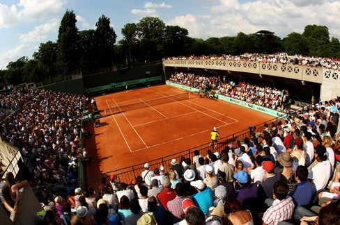 The French Open at Roland Garros 2012