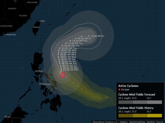 Super Typhoon Kills 1 in Philippines, Tens of Thousands Flee