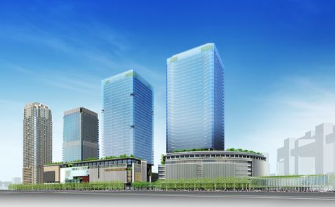 The Osaka Station North District Project