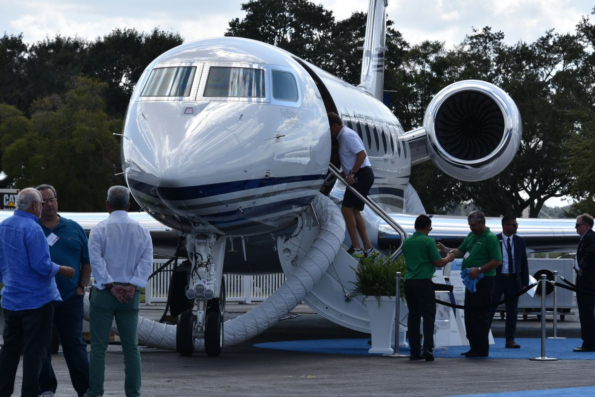 Bombardier Aims to Swipe Gulfstream's Crown for Most-Coveted Jet
