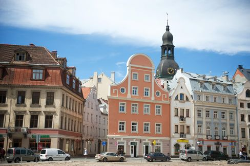 Latvia's Credit Rating Raised at S&P on Lower Debt