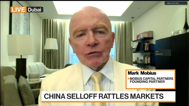 relates to Mark Mobius on China Crackdown, Bitcoin and Gold