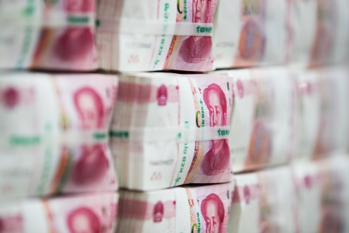 China Sets Yuan Fix at Weakest Since '08 After Currency Drop