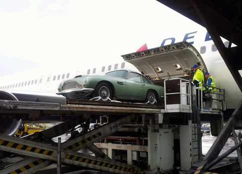 Aston Martin Like 007's in Jet Belly Pads Delta Profit