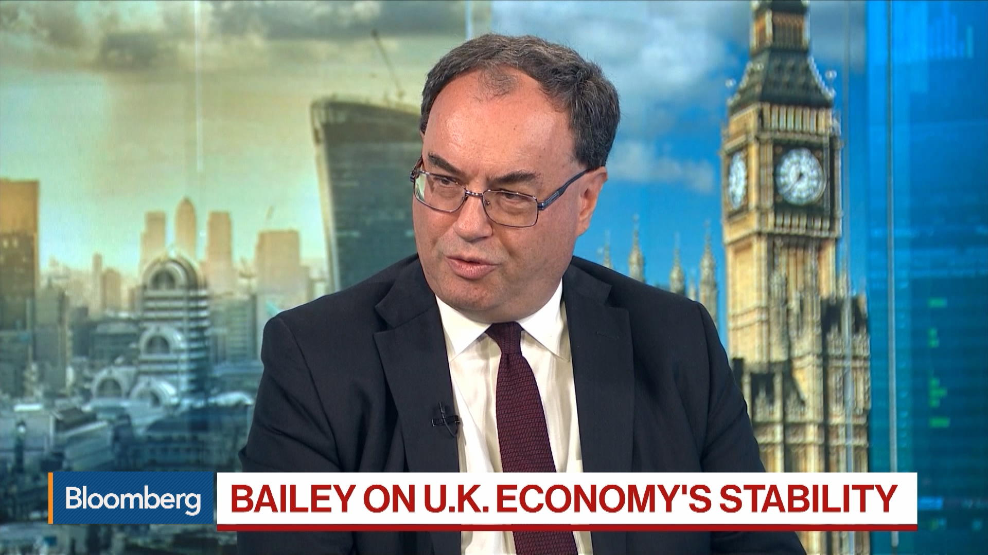 Financial Conduct Authority CEO Andrew Bailey on HKEX-LSE, Post-Brexit Financial Regulation