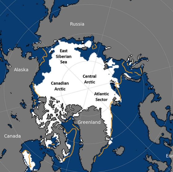 Arctic Summer Melt Shows Ice Is Disappearing Faster Than Normal