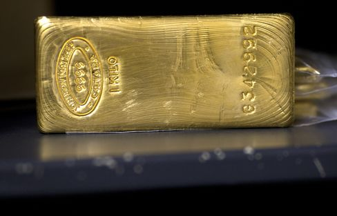 Gold Erases This Year's Gain as Europe Concern Boosts Dollar