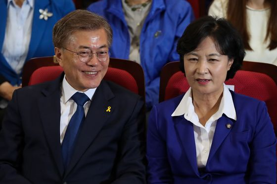 SouthKorea Minister Offers to Quit Over Fight Damaging President