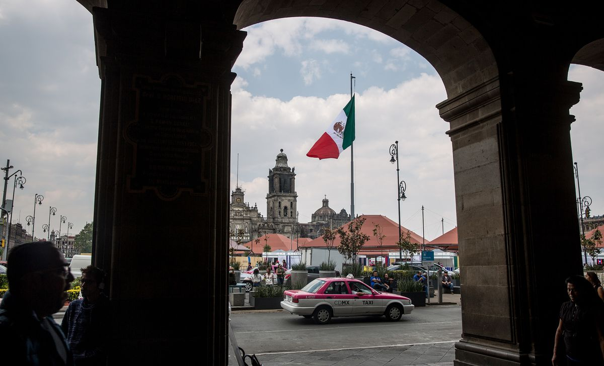 Mexico Risks Recession as Second-Quarter GDP May Be Revised Down