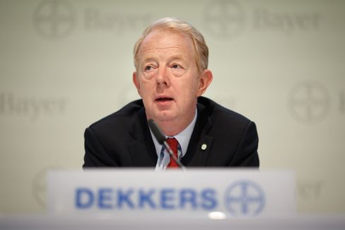 Bayer Chief Executive Officer Marijn Dekkers