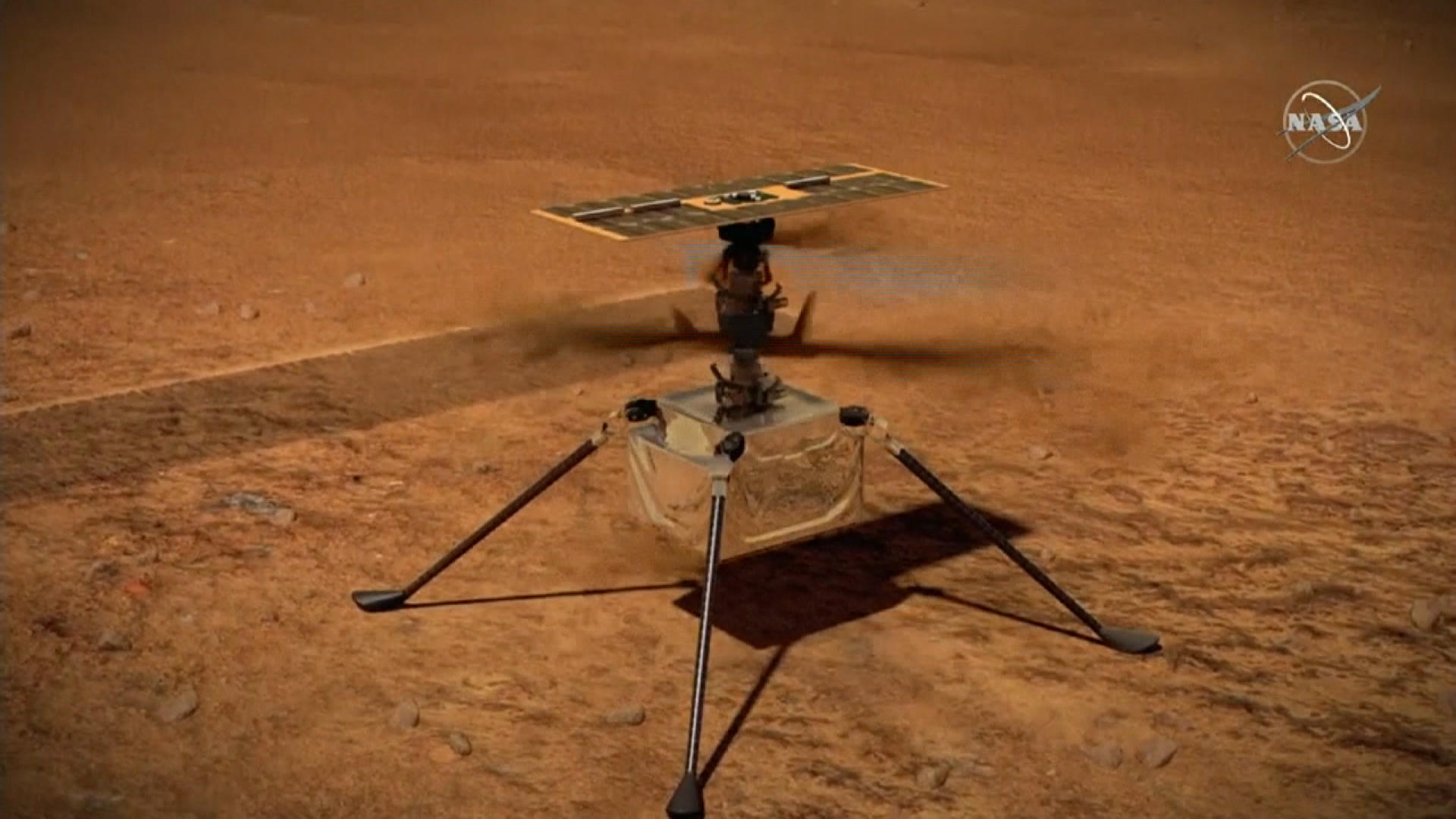 NASA Hopes to Have Mars Helicopter Fly Again