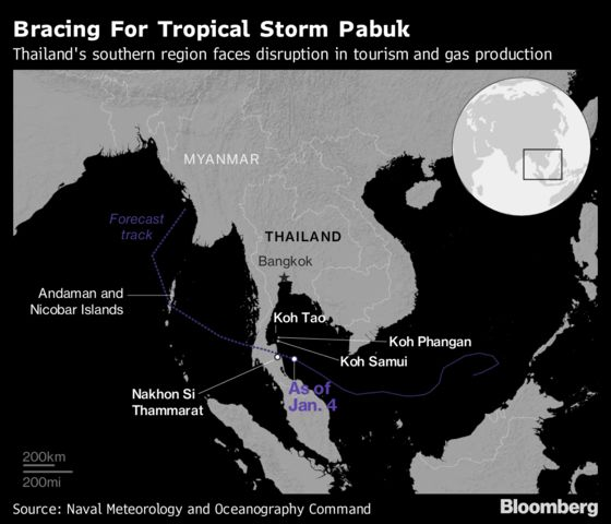 Thailand Braces for Its Most Powerful Storm in Decades