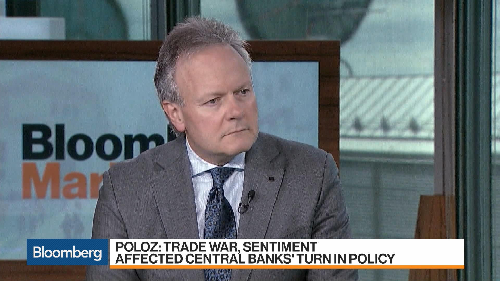 Bank of Canada's Poloz Says Trade War Effects Have Been Modest