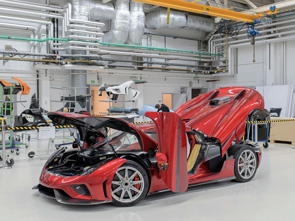 Koenigsegg Is Ready to Fight Ferrari at 249 MPH - Bloomberg