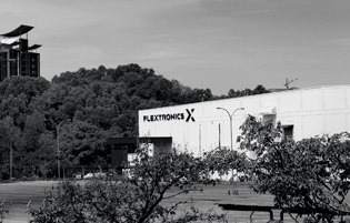 A Flextronics factory in Shah Alam, Selangor state, Malaysia