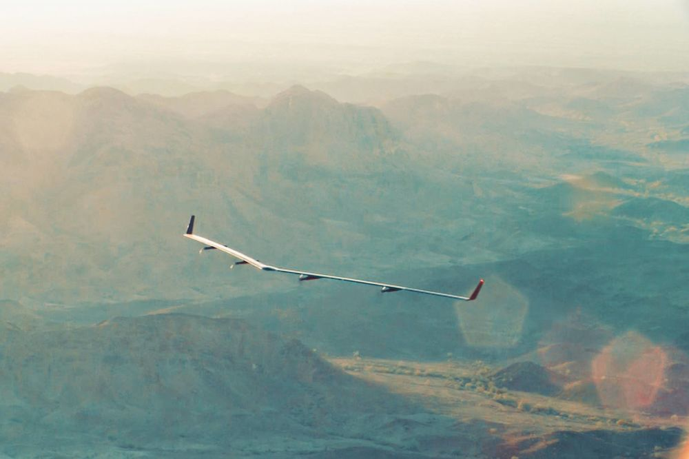 After Google Grounds Its Drone Project, Facebook Ramps Up Flights